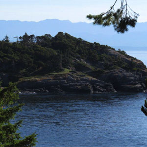 Pike Road Entrance of East Sooke Park